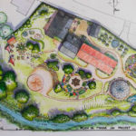 HEA : Marie-Laure Breurec plan de masse Laroin