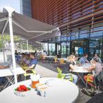 restaurant solidaire Éole : terrasse