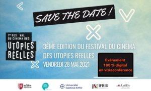 Festival du Cinéma des Utopies Réelles 2021