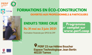 Read more about the article Prochaine formation Enduits terre crue