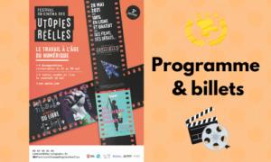 Read more about the article Festival du Cinéma des Utopies Réelles 2021
