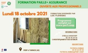 Read more about the article Prochaine Formation Paille+ Assurance