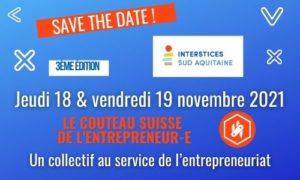 Read more about the article Prochaine édition du Couteau Suisse de l'entrepreneur.e